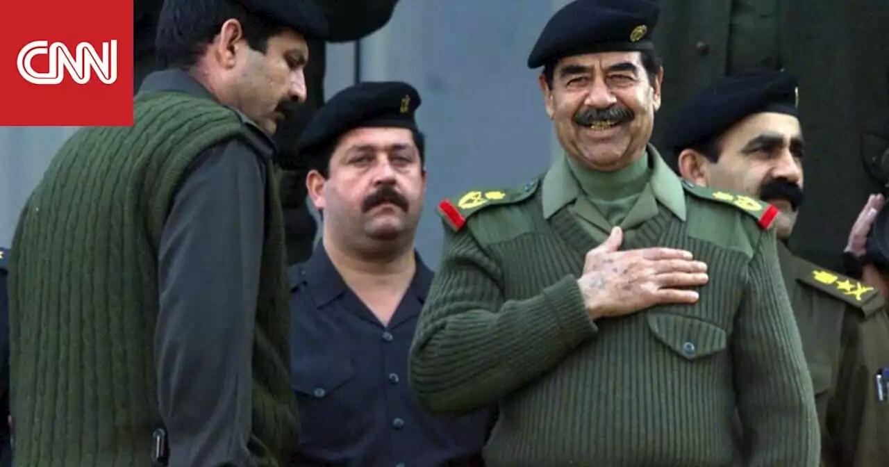 هذا الطفل ركل ساق الرئيس صدام حسين بقوة.. شاهد ردة فعل الأخير التي أذهلت الجميع